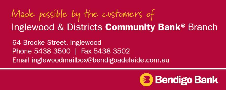 Inglewood & District Community Bank Branch - Bendigo Bank.
